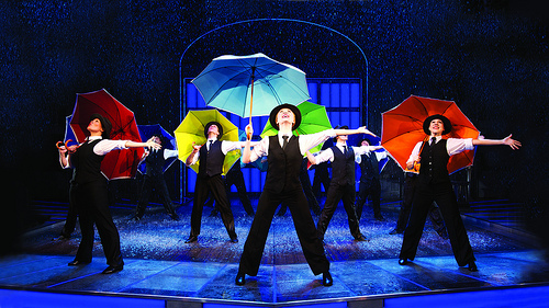 Singing in the Rain at the Festival Theatre, Edinburgh