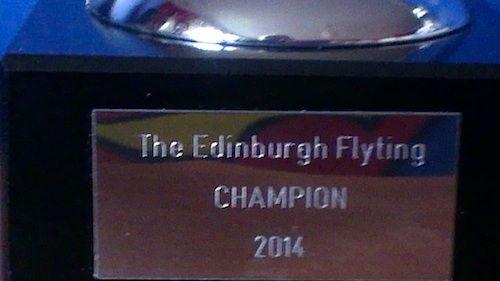 Who would win the Edinburgh Flyting 2014 cup? Photo © Johnni Stanton