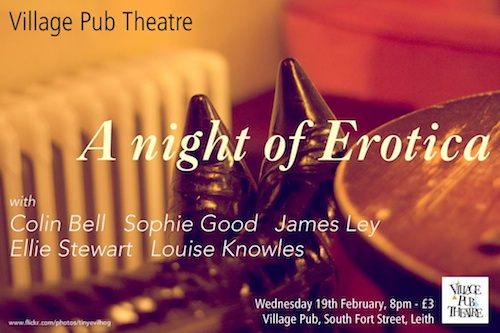 A NIGHT OF EROTICA AT THE VILLAGE PUB THEATRE