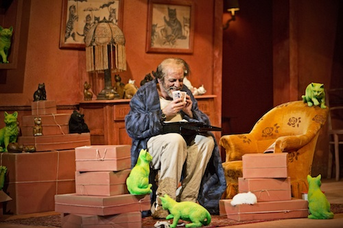 Alfonso Antoniozzi as Don Pasquale. Scottish Opera's Don Pasquale. Credit KK Dundas